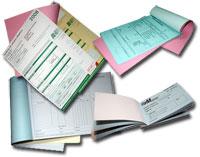 CARNET ou LIASSE en papier autocopiant